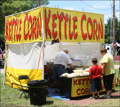 Kettle Corn Concession Stand Wichita KS